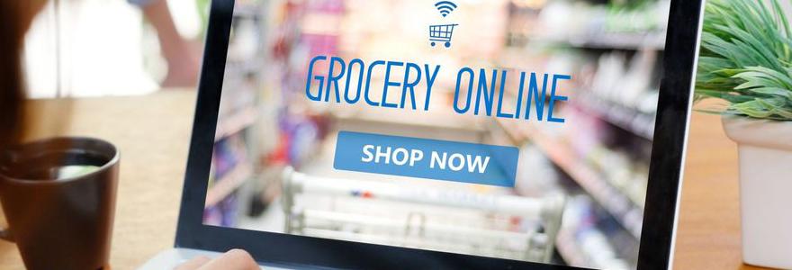 Ses courses en ligne à domicile